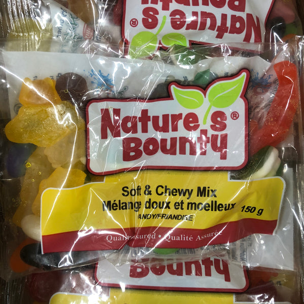 Soft and Chewy Mix BAGGED 150g - Unusual Finds Discount Store
