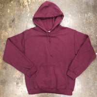 Unisex Burgandy Hoodie Adult - Unusual Finds Discount Store