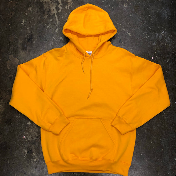 Unisex GOLDEN YELLOW Hoodie Adult - Unusual Finds Discount Store