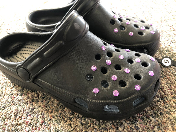 Clog Black Rhinestone - Unusual Finds Discount Store