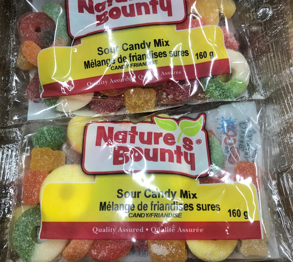 Sour Candy Mix 160g - Unusual Finds Discount Store