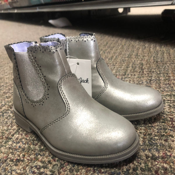 Grey stylish Boots Toddler Child Unisex SZ 9 - Unusual Finds Discount Store