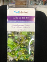 Luxe Bead Kit Green - Unusual Finds Discount Store
