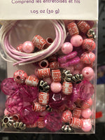 Luxe Bead Kit Pink - Unusual Finds Discount Store