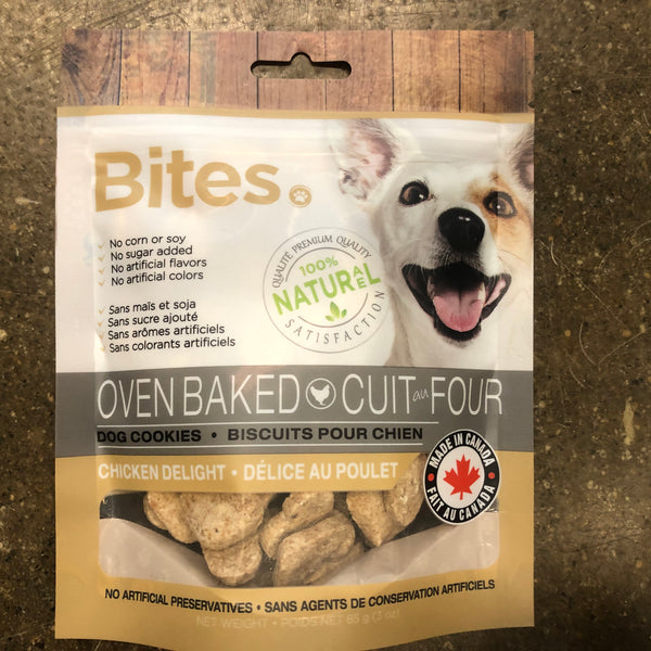 Oven Baked Dog Cookies Chicken Delight - Unusual Finds Discount Store