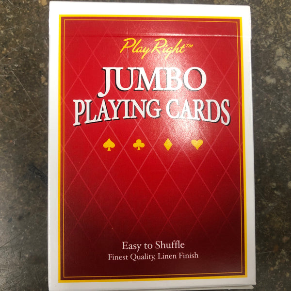 Play Rite Jumbo Playing Cards - Unusual Finds Discount Store