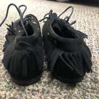 Lady Black Moccasins Faux Suede - Unusual Finds Discount Store