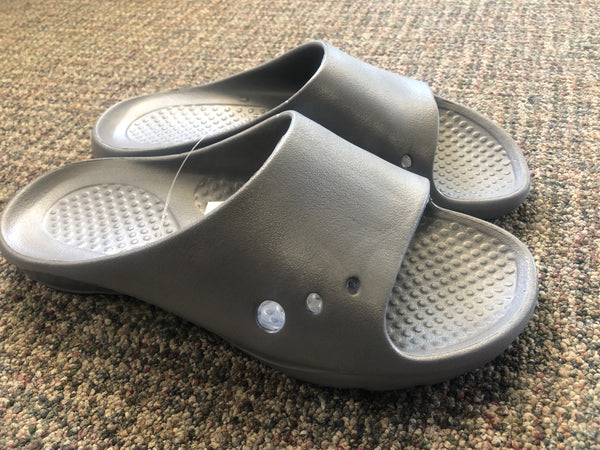 Slider Clogs Grey - Unusual Finds Discount Store