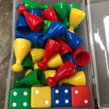 Game Piece and Dice - Unusual Finds Discount Store