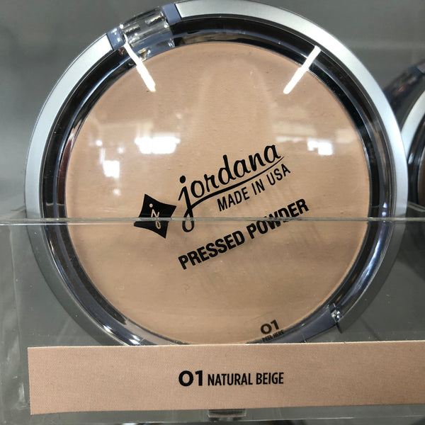 Jordana Pressed Powder-Natural Biege - Unusual Finds Discount Store