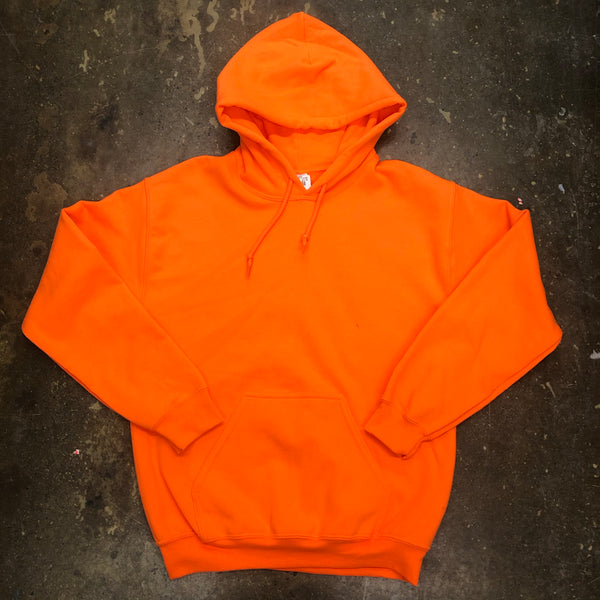 Unisex Neon Orange Hoodie Adult - Unusual Finds Discount Store