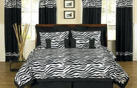 Zebra DUVET COVER-cozy spun - Unusual Finds Discount Store