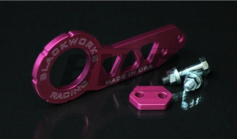 Blackworks Racing Billet FRONT Tow Hook - PINK