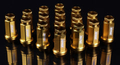 Blackworks Aluminum Lug Nuts - 12x1.5 - 16 pieces - GOLD