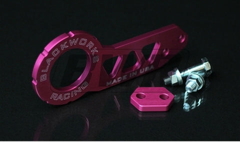 Blackworks Racing Billet REAR Tow Hook - PINK