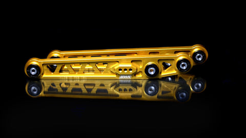 Blackworks Billet Rear Lower Control Arm Honda Civic 96-00 - GOLD