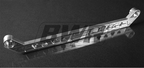 Blackworks Billet Aluminum Rear Tie Bar Civic 92-95 Integra 94-01 SILVER