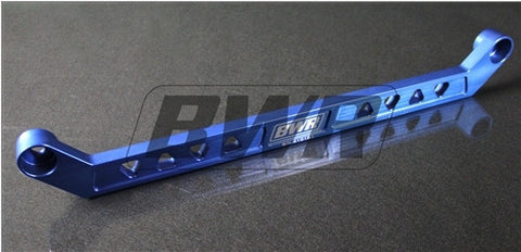 Blackworks Billet Aluminum Rear Tie Bar Honda Civic 96-00 - BLUE