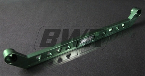 Blackworks Billet Aluminum Rear Tie Bar Honda Civic 96-00 - GREEN