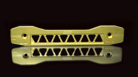 Blackworks Billet Aluminum Rear Subframe Brace Honda Civic 06-14 - GOLD
