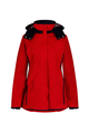 Harriet Raspberry Dry Wax Windproof Coat