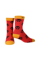 Ladies Bamboo Paw Print Socks  (Buy 3 for £16.50)