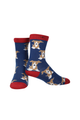 Ladies Bamboo Puppy Socks (Buy 3 for £16.50)