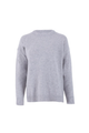 Lambswool Relaxed Fit Jumper Light Grey