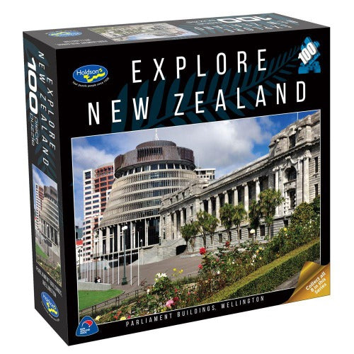 Holdson 100pc puzzle - Parliament Buildings, Wellington