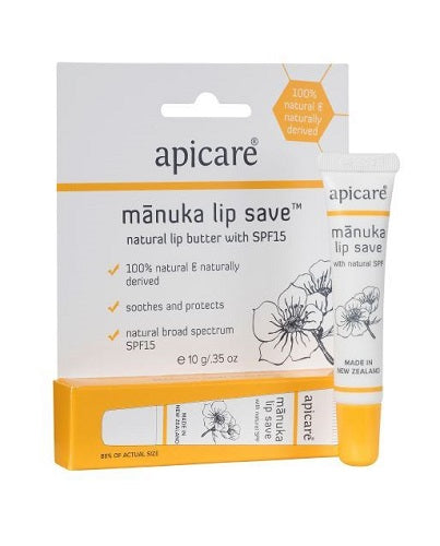 Apicare Manuka Lip Save SPF15 10g