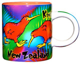 Coffee Mug - Colourful Kiwis