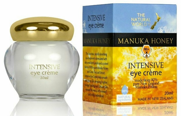 The Natural World - Manuka Honey Intensive Eye Crème 20ml