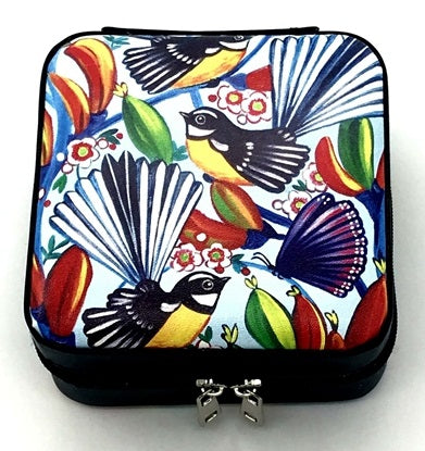 Jewellery Box - Colourful Fantails