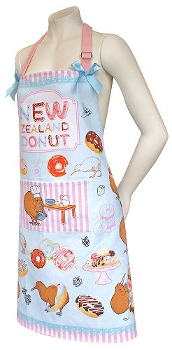Apron Donuts & Kiwi Design - WITH FREE MATCHING TEA TOWEL!!
