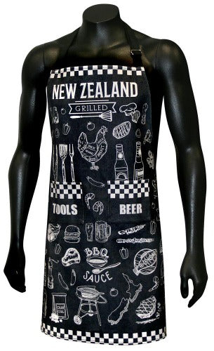 NZ BBQ Design - WITH FREE TEA TOWEL!!