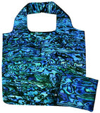 Pure Paua Blue - Fold Out Bag