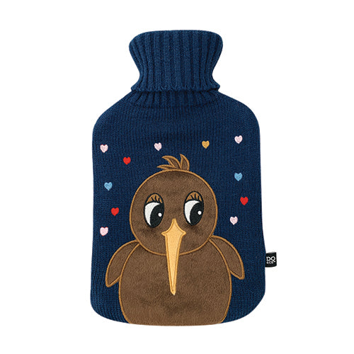Hot Water Bottle Cute Kiwi Love
