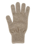 Lothlorian Possum & Merino Unisex Gloves, Natural