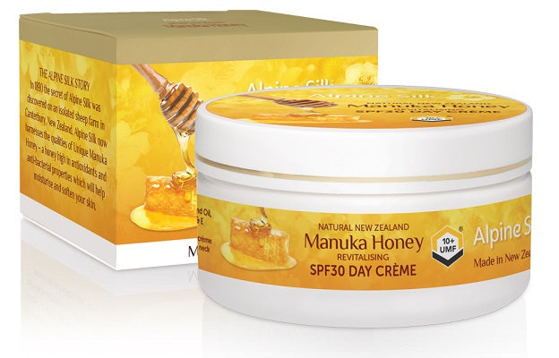 Alpine Silk Manuka Honey SPF30 Day Creme 100g