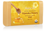 Alpine Silk Manuka Honey Soap 120g
