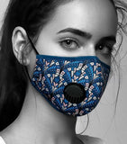Face Mask Anti-Pollution - Fog Free - Aubrey Pattern