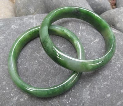 Jade Wide Bangle x1