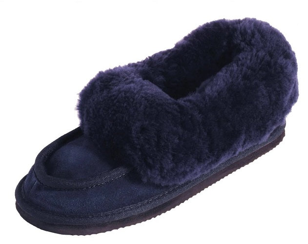 Ladies Classic Slippers - Navy