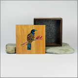 Filigree Tui - Square Trinket Box