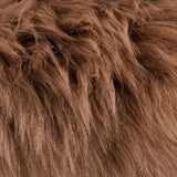 Single Large Sheepskin Rug - Taupe