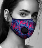 Face Mask Anti-Pollution - Fog Free - Isabelle Pattern