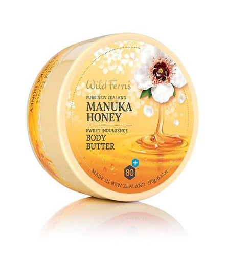 Wild Ferns Manuka Honey Sweet Indulgence Body Butter 175g