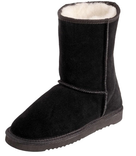 Ladies Punga Short UGG Boot - Black