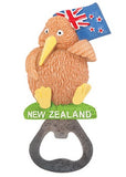 Kiwi & Flag Bottle Opener Magnet
