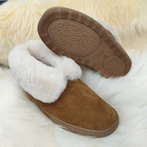 Raglan Unisex Slipper Boot with Collar